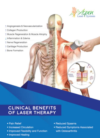 clinical benefits of laser therapy brochure